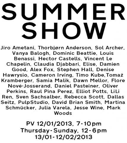 Summer Show invitation