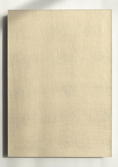 Untitled white cloth (in gold) #1